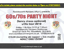 60's 70's Party Night